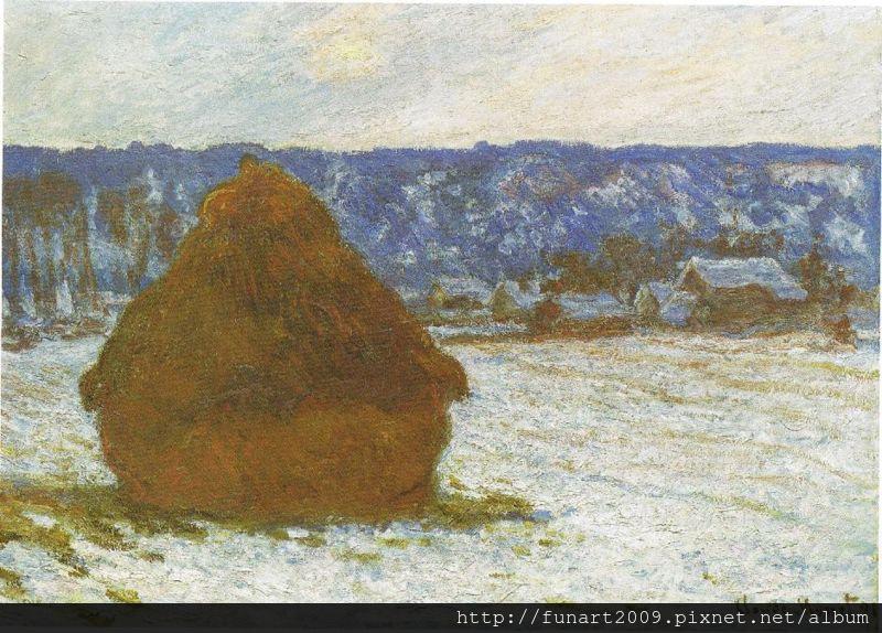 1890 乾草堆 (Snow Effect)