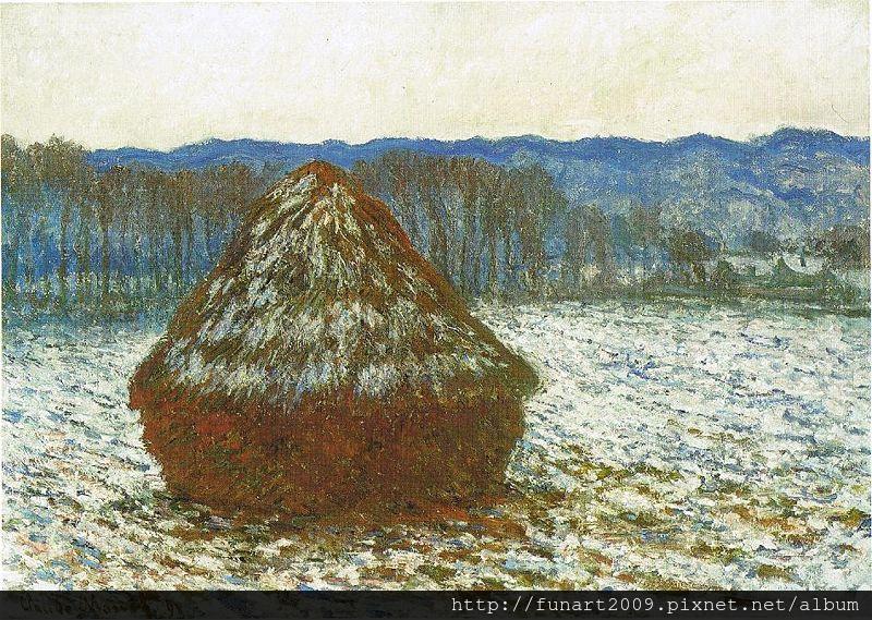 1890乾草堆 65.6x92cm