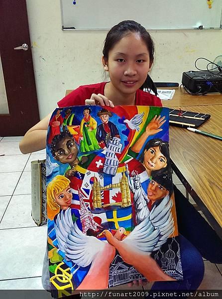 2014-2015年國際和平海報比賽