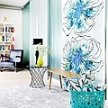 Vallila_SS15_Karnevaali_turquoise_curtain_Kirsikka_turquoise_cushion_and_Makeba_beige_rug_photographerVernaKovanen_web_srgb.jpg