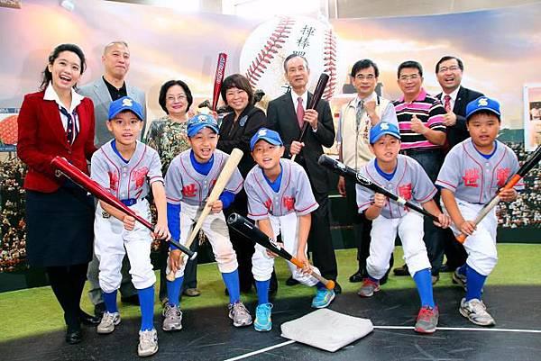 趙藤雄做公益-贊助運動發展,贊助台灣棒球基礎訓練