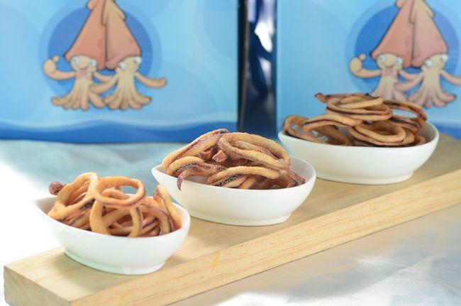 香脆魷魚酥,有原味.芥末.辣等三種口味,是下酒菜的好麻吉,最大方的伴手禮.JPG