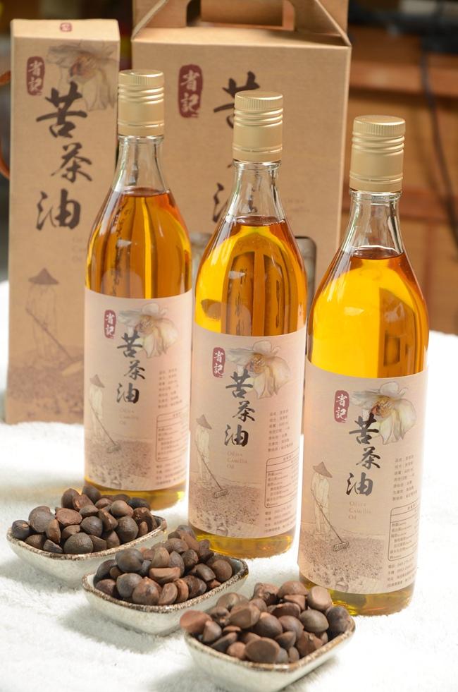 苦茶油為台灣珍貴好油,春節送禮油夠體面.JPG