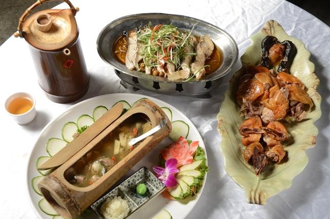 尾牙饗宴品嚐關子嶺山產野蔬.JPG