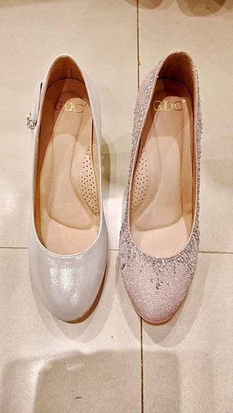 婚鞋比較 正面