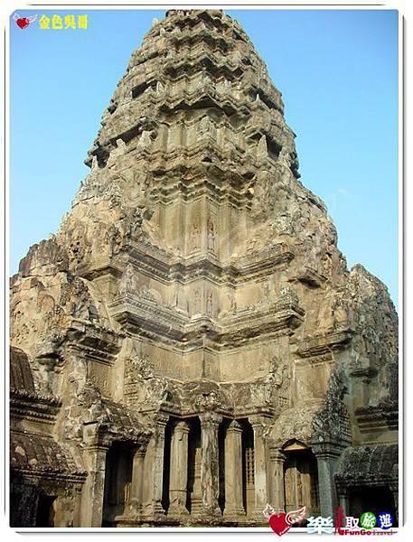 金色吳哥-小吳哥窟AngkorWat-05