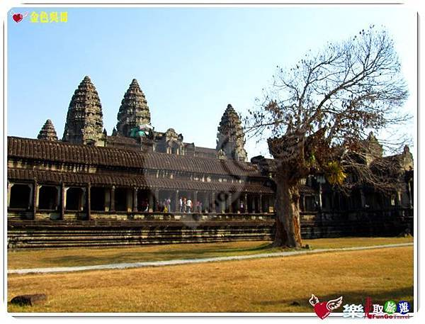 金色吳哥-小吳哥窟AngkorWat-14