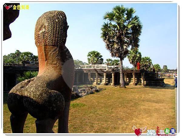 金色吳哥-小吳哥窟AngkorWat-17