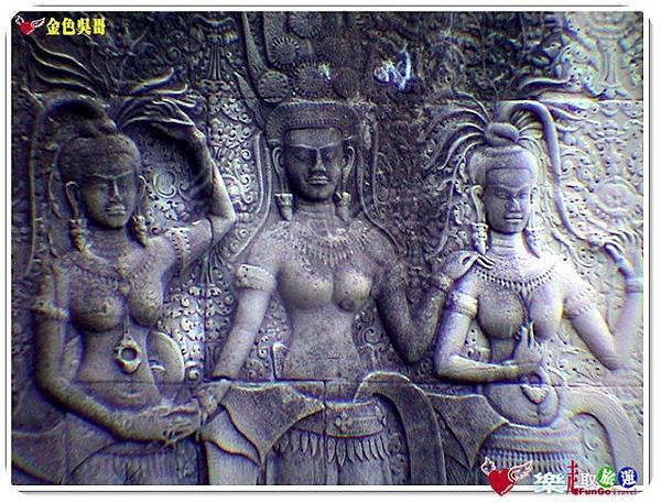 金色吳哥-小吳哥窟AngkorWat-21