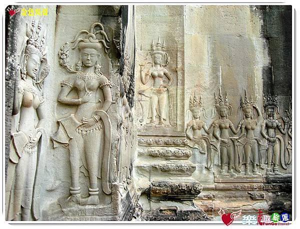 金色吳哥-小吳哥窟AngkorWat-30
