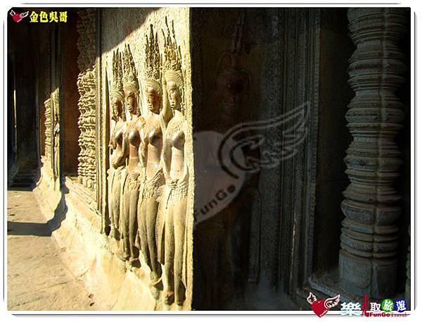 金色吳哥-小吳哥窟AngkorWat-37
