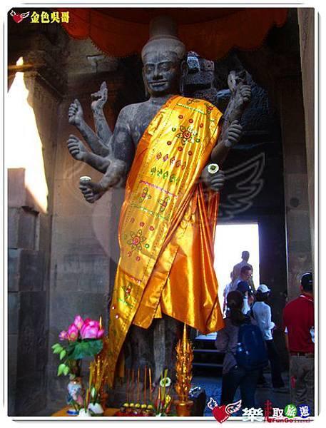 金色吳哥-小吳哥窟AngkorWat-47