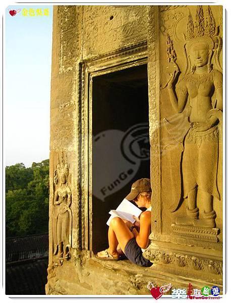 金色吳哥-小吳哥窟AngkorWat-51