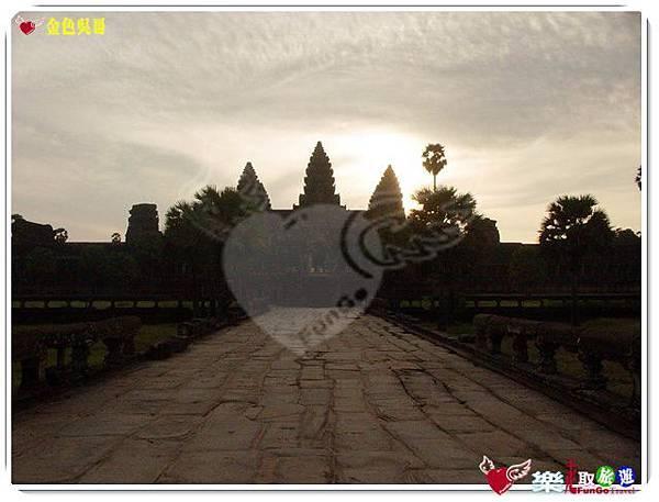 金色吳哥-小吳哥窟AngkorWat日出-07