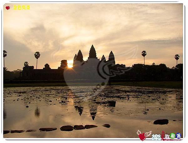 金色吳哥-小吳哥窟AngkorWat日出-06