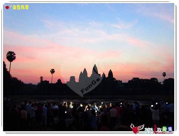 金色吳哥-小吳哥窟AngkorWat日出-11