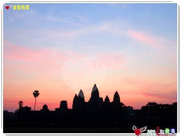 金色吳哥-小吳哥窟AngkorWat日出-12