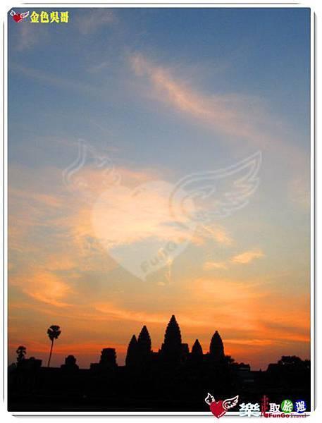 金色吳哥-小吳哥窟AngkorWat日出-16