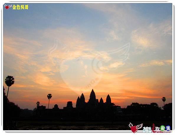 金色吳哥-小吳哥窟AngkorWat日出-17