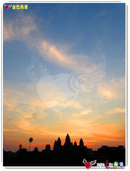 金色吳哥-小吳哥窟AngkorWat日出-18