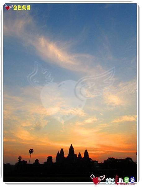 金色吳哥-小吳哥窟AngkorWat日出-19