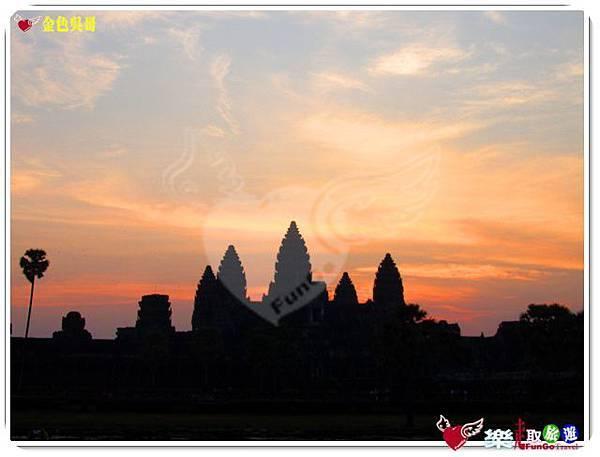 金色吳哥-小吳哥窟AngkorWat日出-20
