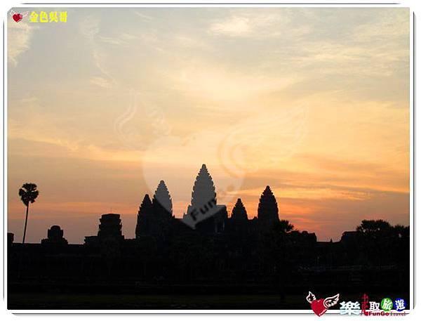 金色吳哥-小吳哥窟AngkorWat日出-24