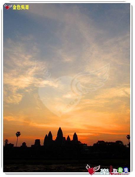 金色吳哥-小吳哥窟AngkorWat日出-22