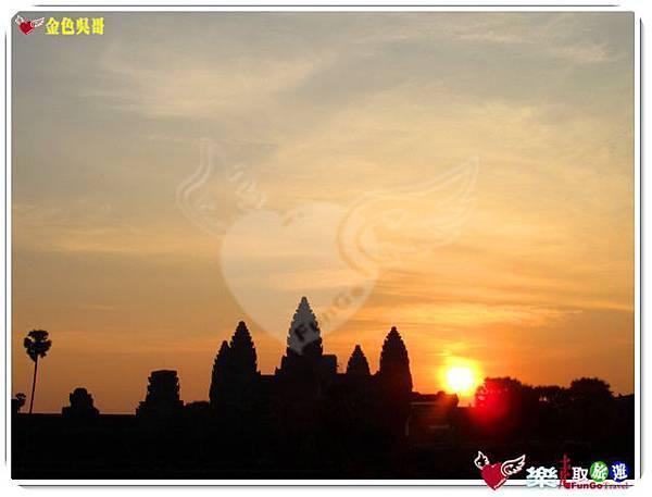 金色吳哥-小吳哥窟AngkorWat日出-28