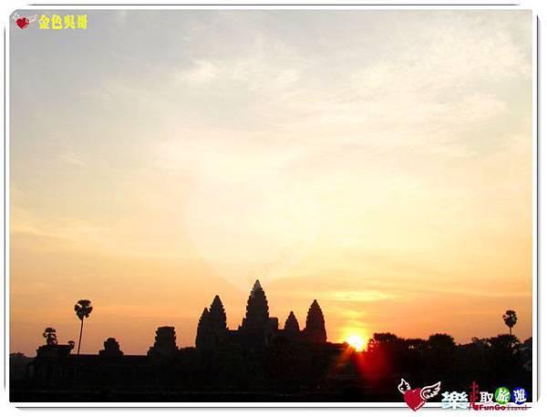 金色吳哥-小吳哥窟AngkorWat日出-26