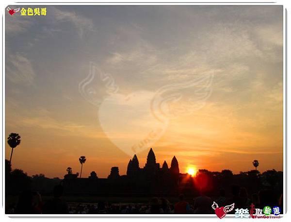 金色吳哥-小吳哥窟AngkorWat日出-27