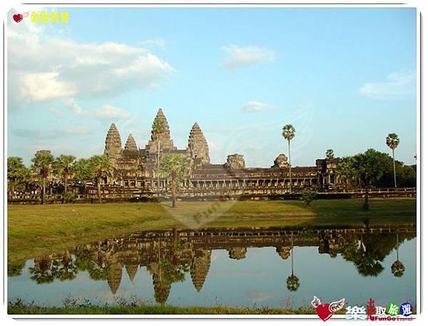 金色吳哥-小吳哥窟AngkorWat水中倒影-04