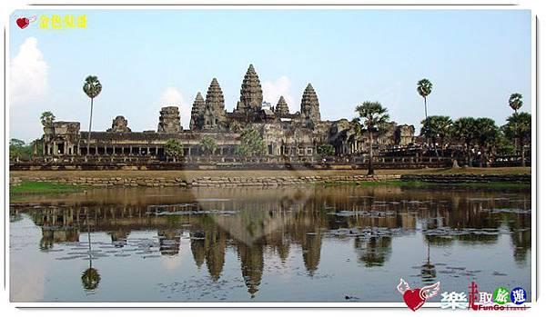 金色吳哥-小吳哥窟AngkorWat水中倒影-02-16-9