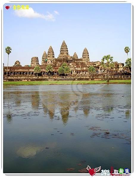 金色吳哥-小吳哥窟AngkorWat水中倒影-06