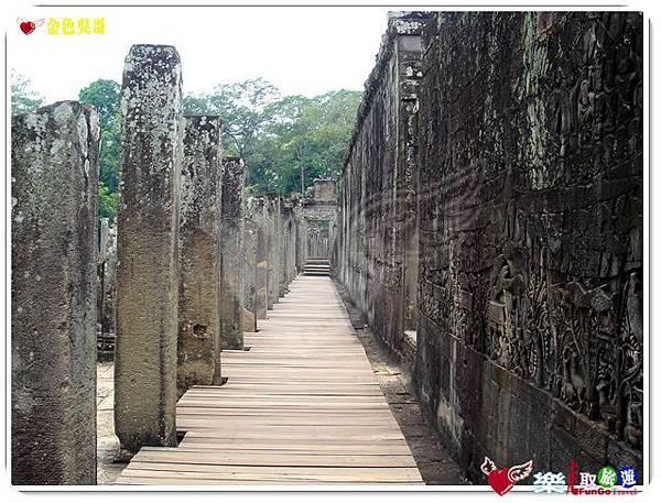 金色吳哥-大吳哥窟Angkor Thom-Bayon百因廟-03