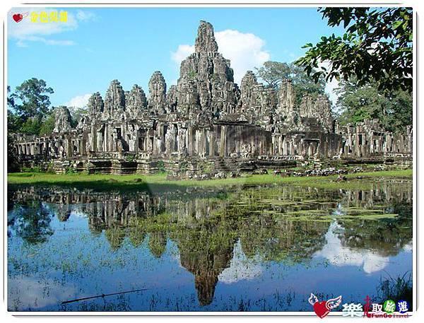 金色吳哥-大吳哥窟Angkor Thom-Bayon百因廟-01