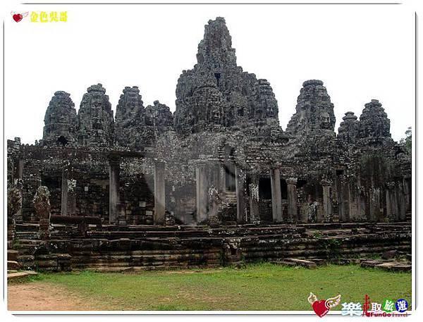 金色吳哥-大吳哥窟Angkor Thom-Bayon百因廟-05
