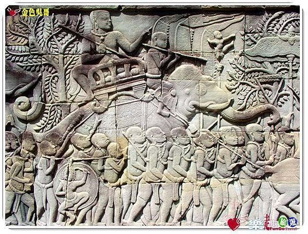 金色吳哥-大吳哥窟Angkor Thom-Bayon百因廟-08