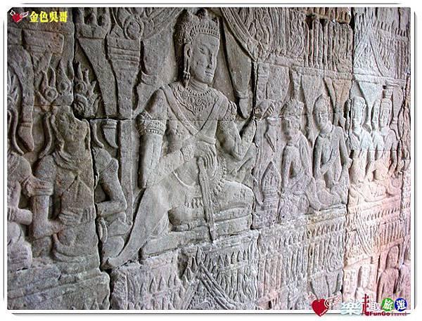 金色吳哥-大吳哥窟Angkor Thom-Bayon百因廟-06