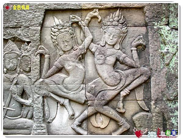 金色吳哥-大吳哥窟Angkor Thom-Bayon百因廟-11