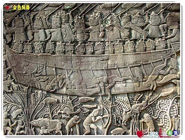 金色吳哥-大吳哥窟Angkor Thom-Bayon百因廟-13