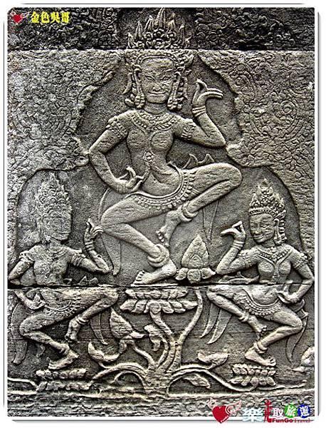 金色吳哥-大吳哥窟Angkor Thom-Bayon百因廟-20