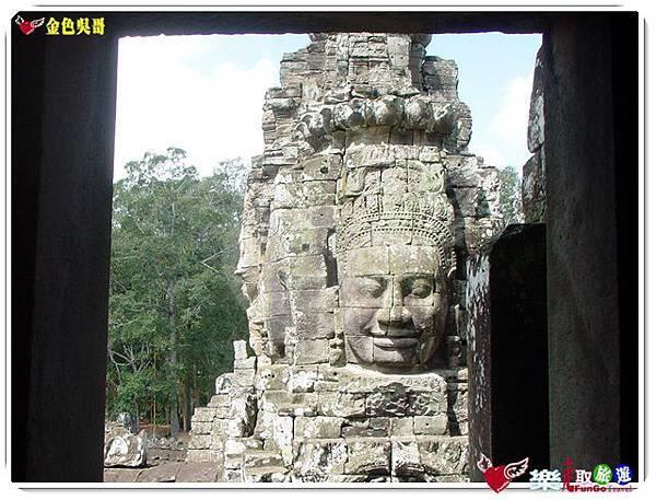 金色吳哥-大吳哥窟Angkor Thom-Bayon百因廟-21