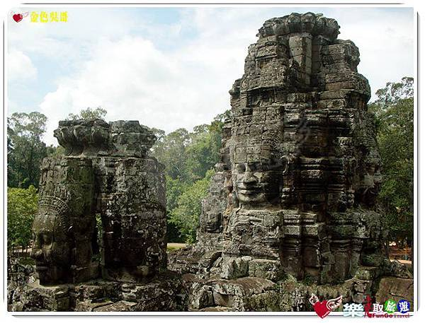 金色吳哥-大吳哥窟Angkor Thom-Bayon百因廟-23