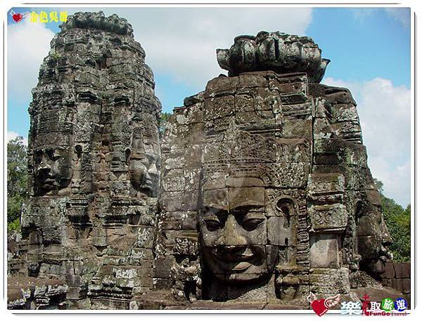 金色吳哥-大吳哥窟Angkor Thom-Bayon百因廟-24