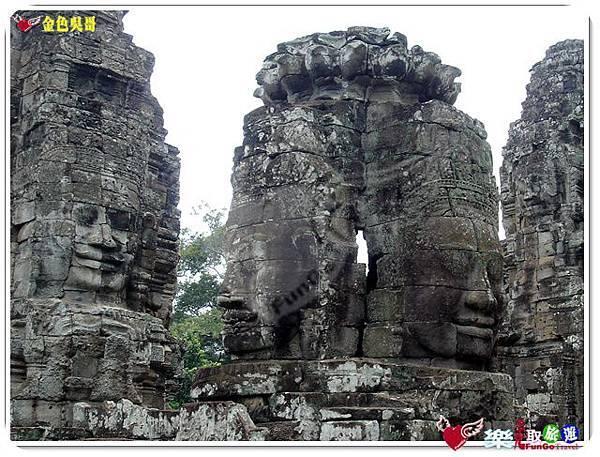 金色吳哥-大吳哥窟Angkor Thom-Bayon百因廟-25