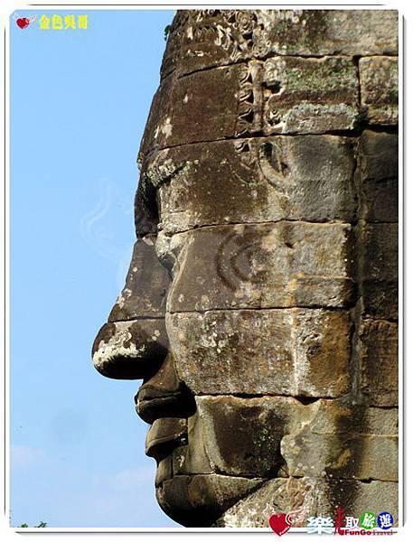金色吳哥-大吳哥窟Angkor Thom-Bayon百因廟-35