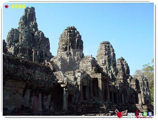 金色吳哥-大吳哥窟Angkor Thom-Bayon百因廟-45
