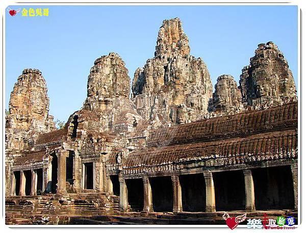 金色吳哥-大吳哥窟Angkor Thom-Bayon百因廟-46