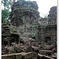 金色吳哥-大吳哥窟Angkor Thom-Bayon百因廟-48